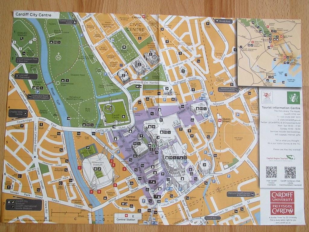 Cardiff City Centre Cardiff Bay Tourist Information Cen Flickr
