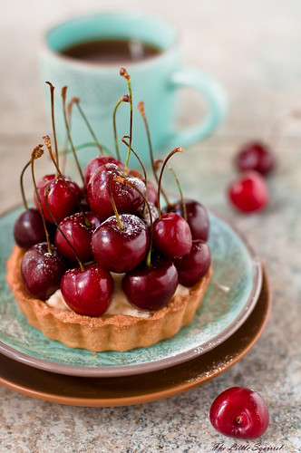 cherry tart | by The Little Squirrel