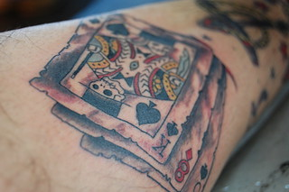 Magician Cards Traditional Tattoo | by Carlos Varela