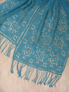 Turtle Lace Scarf | by evelyndesigns