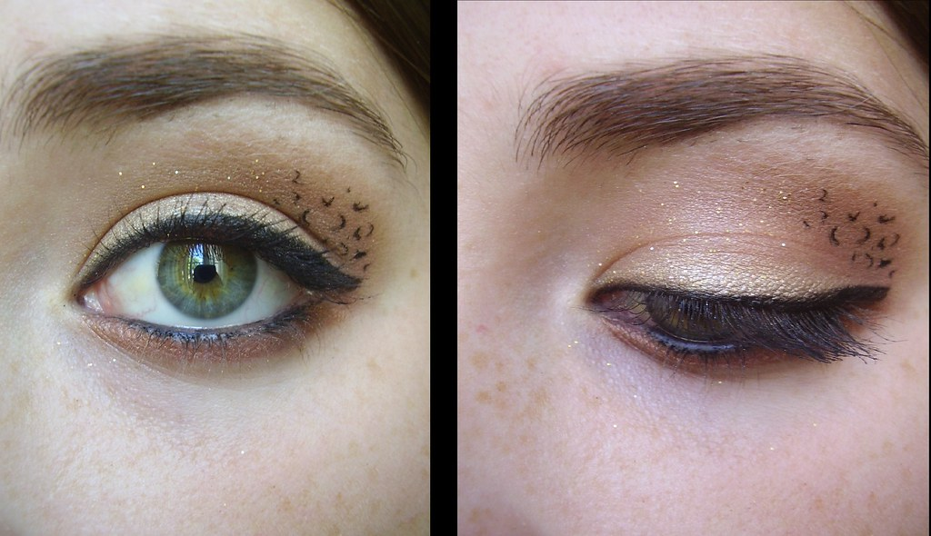 Cheetah Print Eyeshadow Check Out My Youtube Youtube Flickr