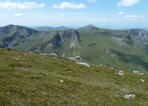Elidir Fawr to Y Garn from  Pen Yr Ole Wen | by Borders Thinking
