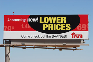 Fry's Food Stores billboard - Santan Freeway Loop 202, Chandler, AZ | by azbillboard