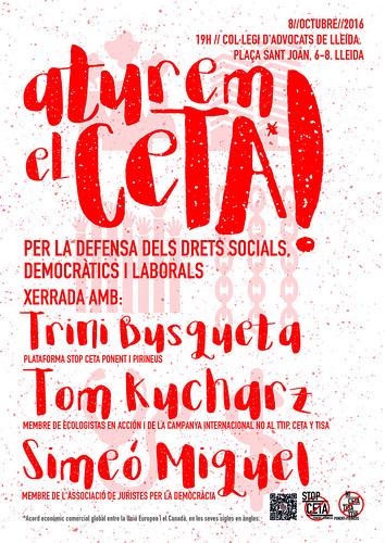 Acte No CETA a Lleida