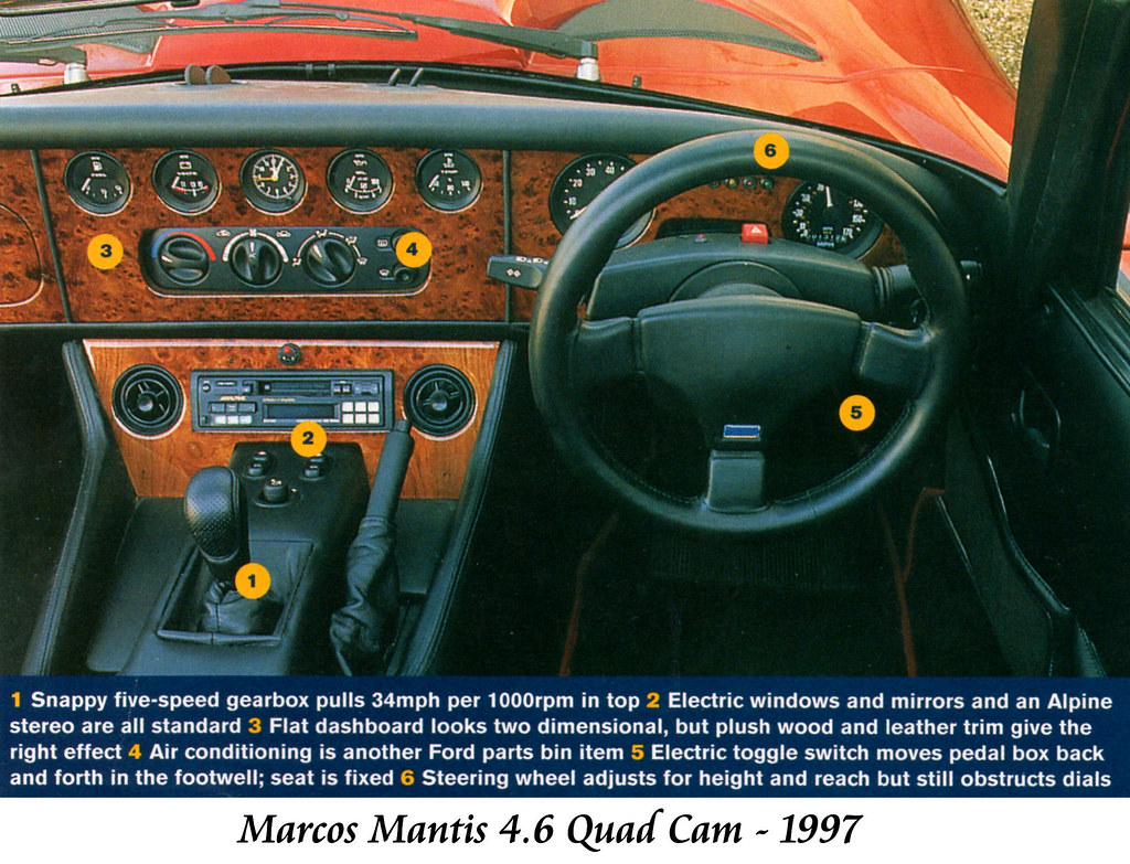 Marcos Mantis 4.6 Quad Cam | 1997 model. | Dave | Flickr