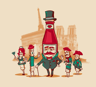 Sir Fancy Ketchup visits France | by Ben Douglass