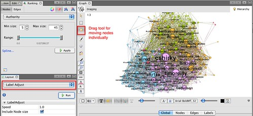 gephi  - label adjust | by psychemedia