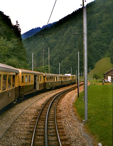 1984-08-15. 03.  Berner Oberland Bahn. | by Ron Fisher
