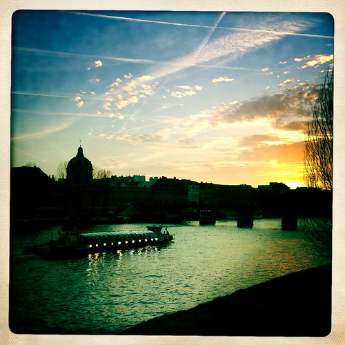 The Seine at sunset | by C_Michener