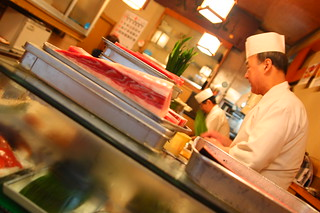 sushi master at work | by cylonfingers