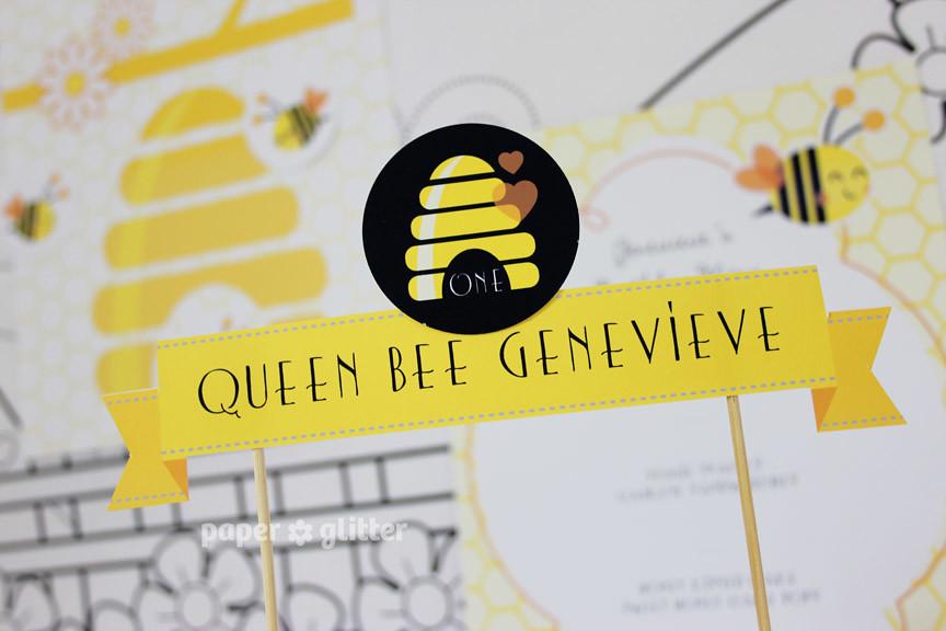 Printable Birthday Stationery Paper ~ 23 printable party printables bee children birthday paper u2026 flickr