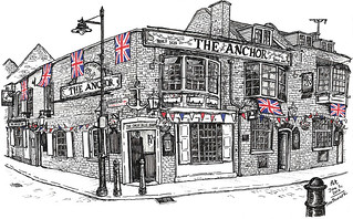 the anchor, southwark | by petescully
