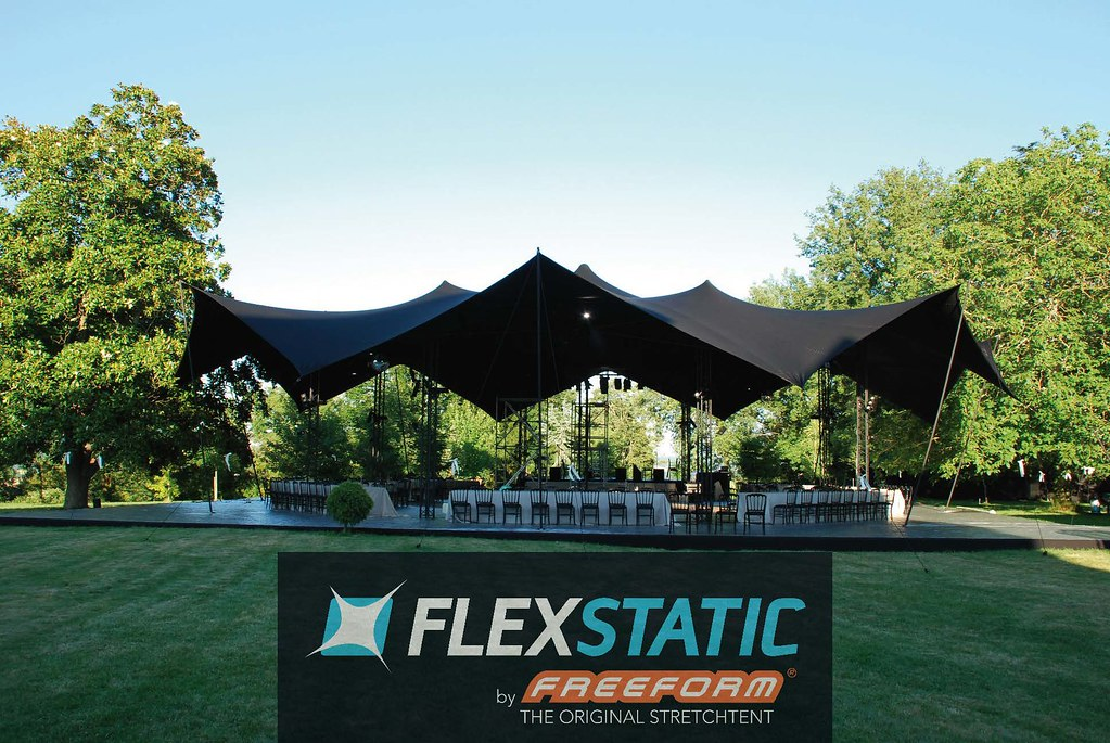... Freeform stretch tent | by FLEXSTATIC stretchconcepts by Freeform & Freeform stretch tent | Octobar by Flexstatic | Flickr