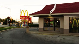 Early morning at the Mc Donald's. Niles Illinois USA. June 2011. | by Eddie from Chicago