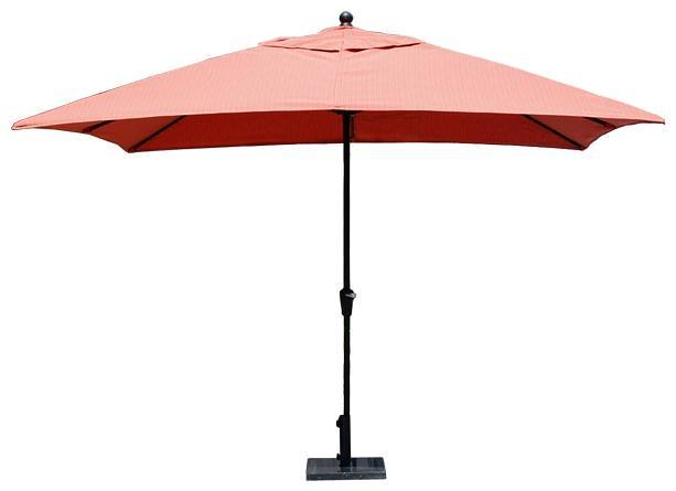 Parasol Rectangulaire pour Table de Patio # 9187 de Palason