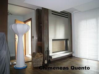 Chimenea quento uniter con stuv 21 125 - Chimeneas quento ...