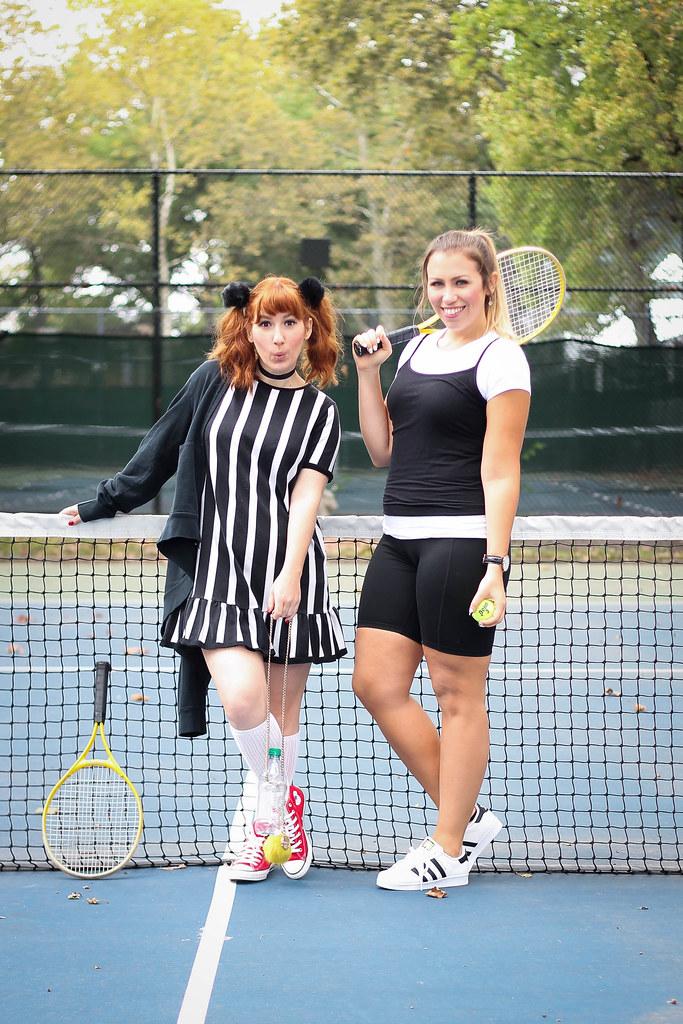 ... Cher u0026 Amber Clueless Movie Tennis 90s Halloween Costumes | by jackiegiardina  sc 1 st  Flickr & Cher u0026 Amber Clueless Movie Tennis 90s Halloween Costumes | Flickr