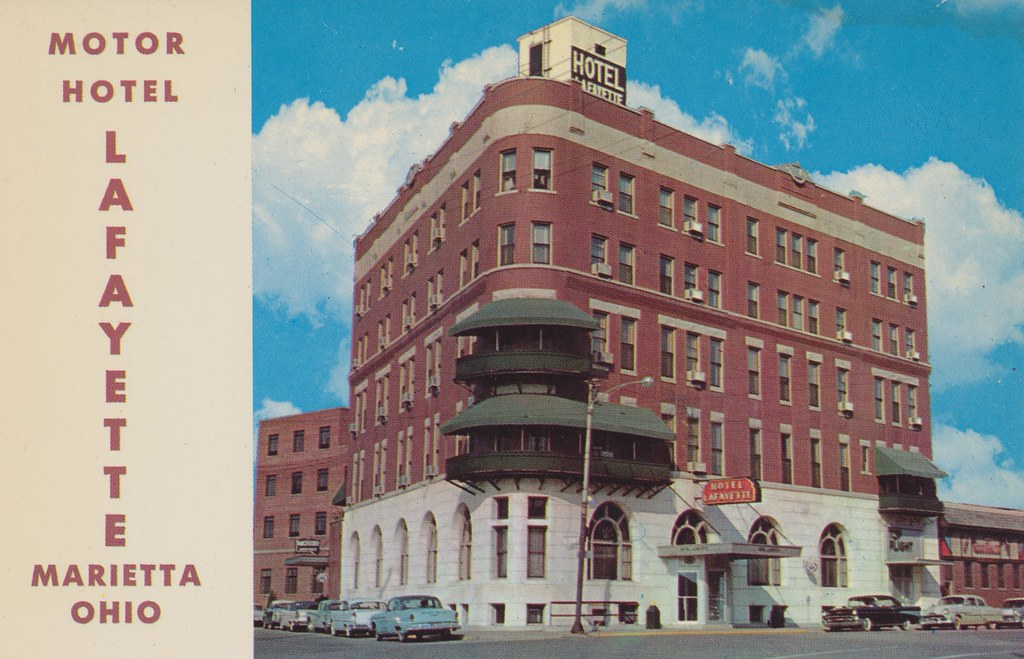 Motor Hotel Lafayette - Marietta, Ohio