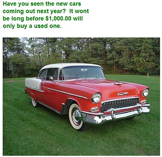 Cars - Comments You May Have Overheard in 1955 Series shared by the Nicheprof | by nicheprof