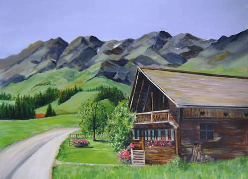 Summer mountain Chalet | by Janet Sidney