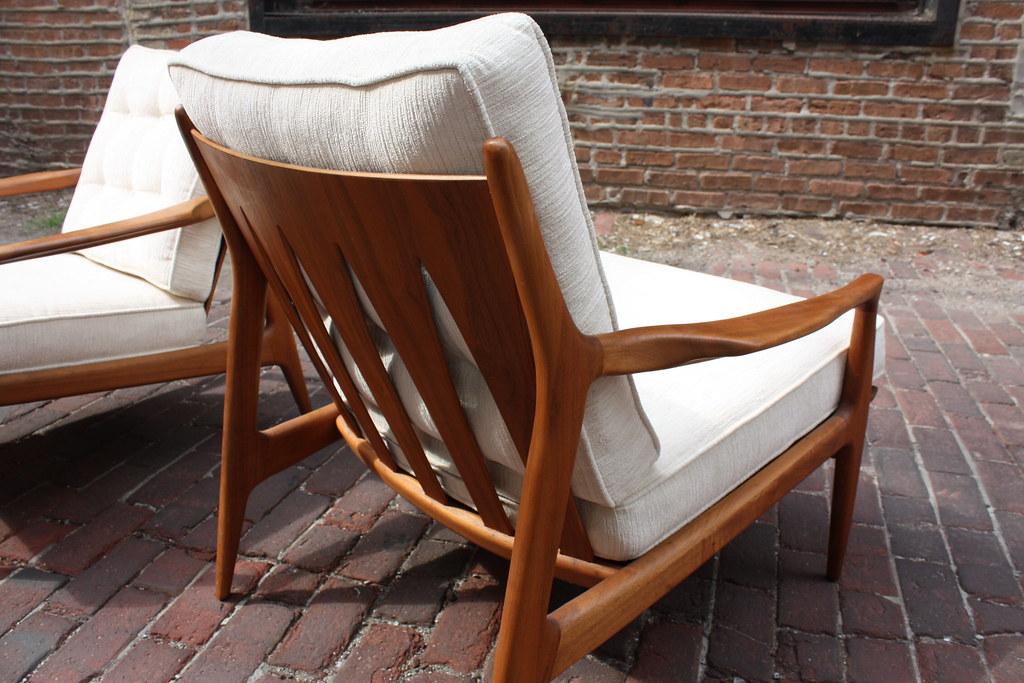 ... Remarkably Rare Milo Baughman Mid Century Modern Lounge Chairs (Thayer  Coggin, 1950u0027s) |