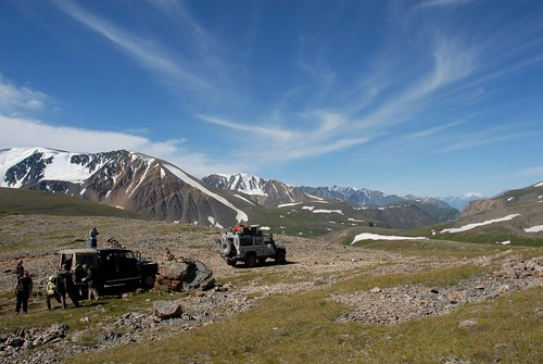 The landscape in the Altai Mountains | by Land Rover Our Planet