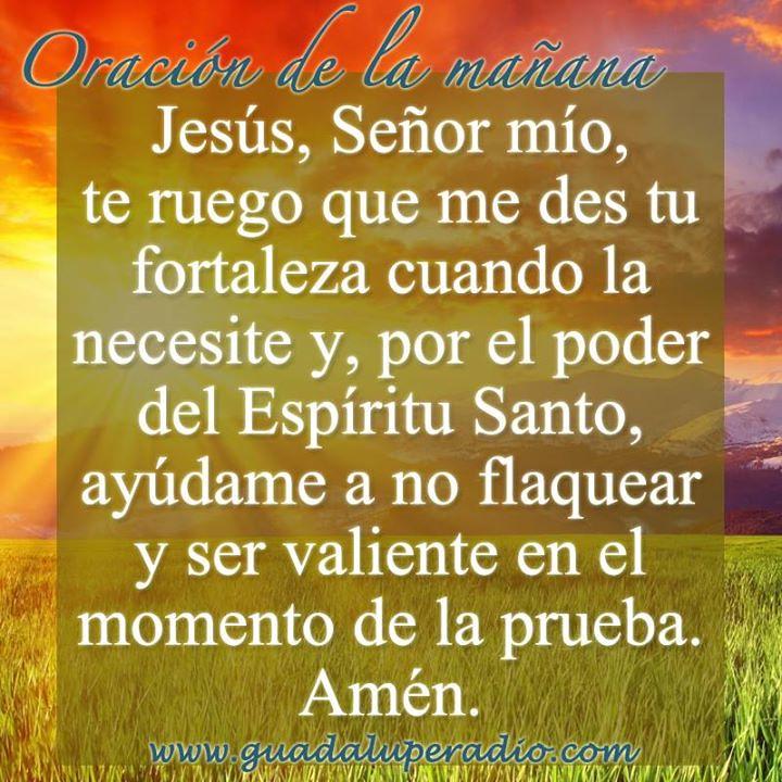 ... #Oraciondelamañana Buenos días, hermanos. Que este domingo esté lleno  de bendiciones para cada
