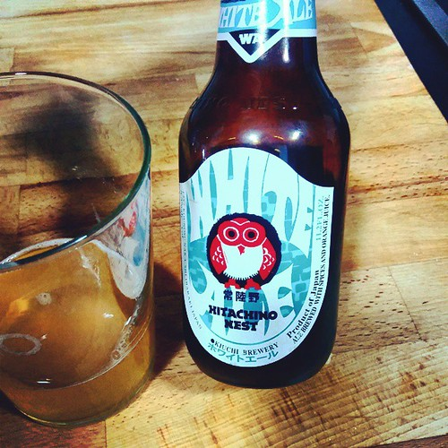 Hitachino Nest - excellent Japanese white #ale -/strong flavour. With spices and orange juice. Nice design too. | by aelena