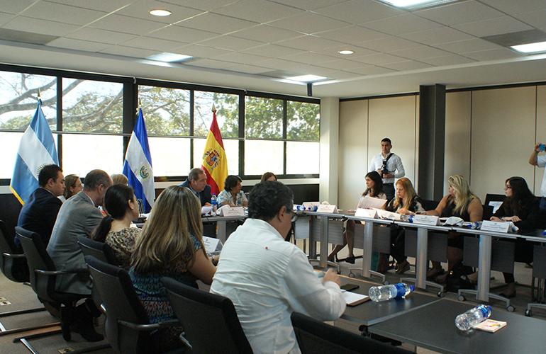 Primera Misión Técnica de Funcionarios Argentinos brinda apoyo a INJUVE para la implementación de la Ley General de la Juventud, a través de la Cooperación Triangular El Salvador, Argentina y España