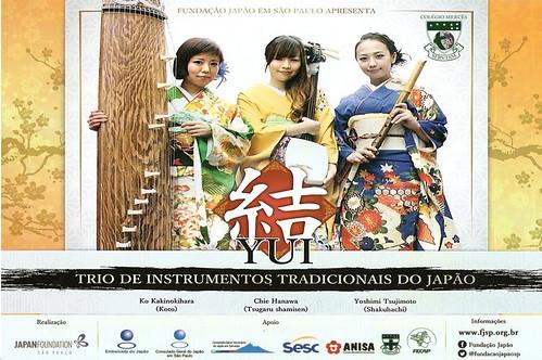 YUI - Trio de Instrumentos Tradicionais do Japão