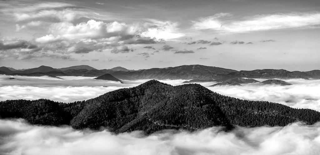 Gutensteiner Alps IV - Lower Austria   Panorama aus 3 Aufnah