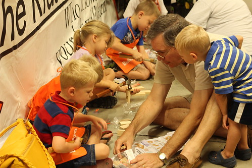 Home Depot Kids Workshop | by MommyNamedApril