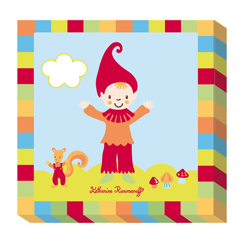 Cadre d co petit lutin katherine for Decoration murale katherine roumanoff