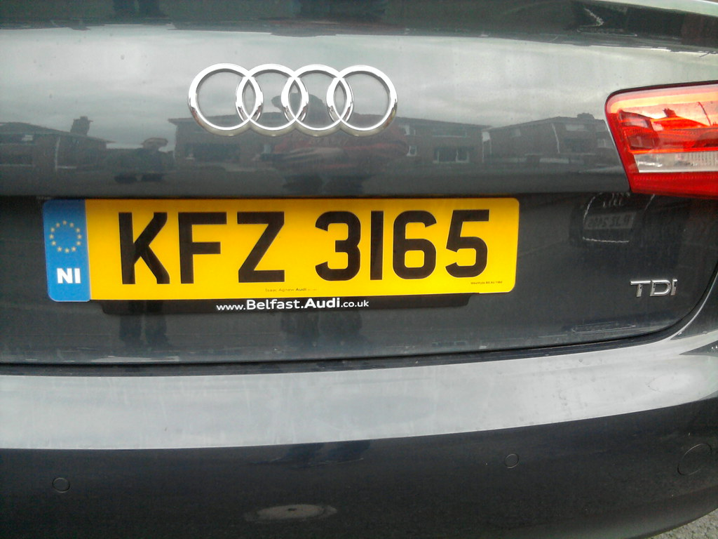 Car Number Plate from Belfast, UK | FZ = Belfast | Déaglán ...