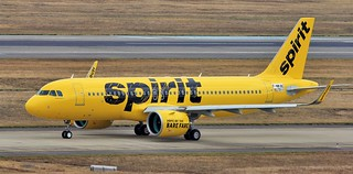 Spirit Airlines / A320-271 Neo / F-WWBC