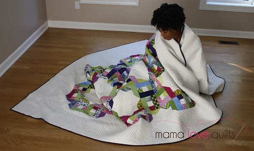 Me and my quilt | by Mama Love Quilts (Nicole)