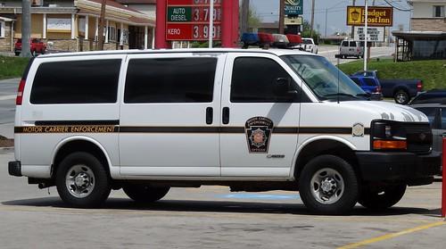 Pennsylvania state police motor carrier enforcement flickr for New penn motor express jobs