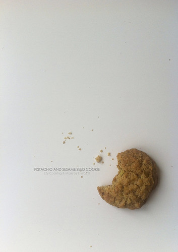 pistachio and sesame seed cookie | by EZ68
