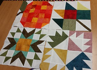 My 4 blocks for FGV finished just in time.  New blocks came out today.