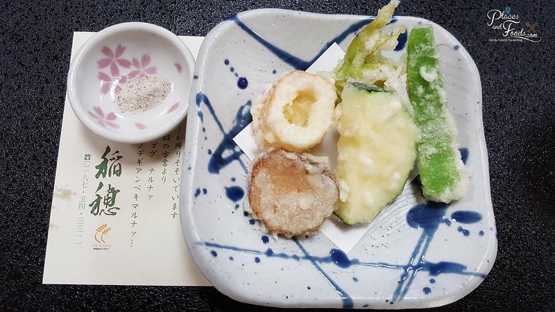 Dining Inaho Semboku City Akita tempura