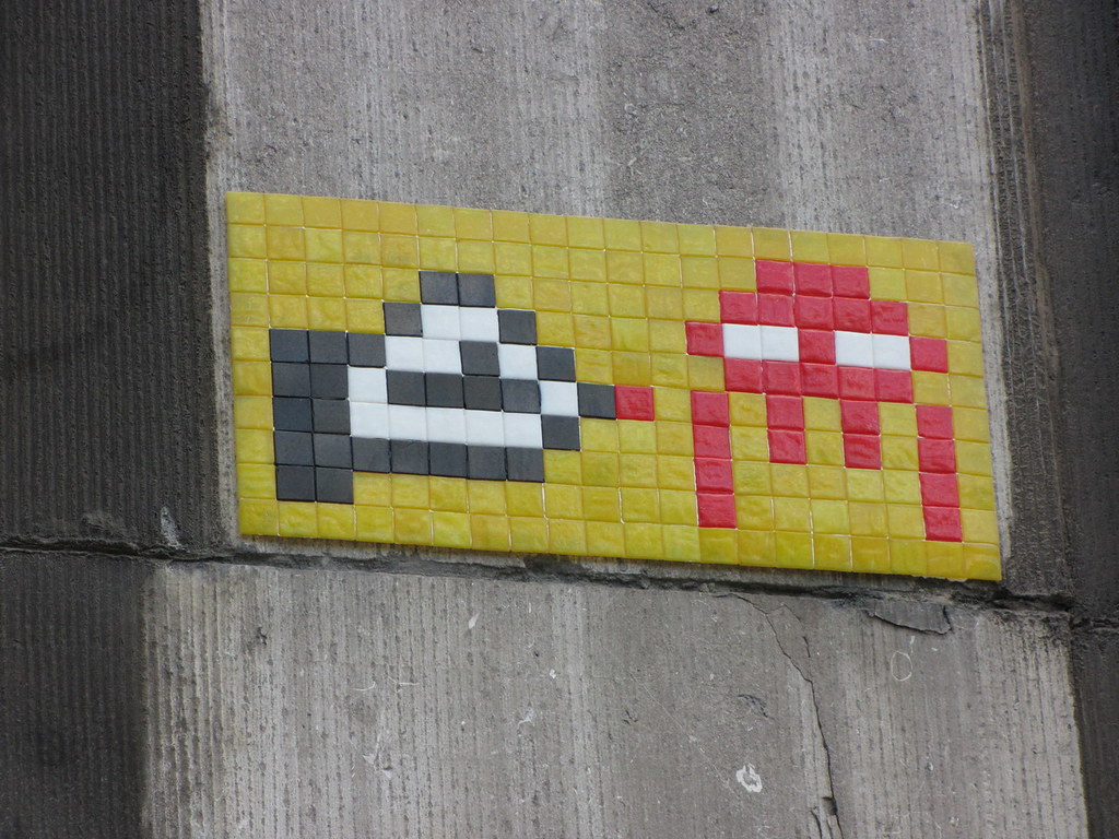 Space Invader in Brussels : BXL_27 | Another view here | Denis | Flickr