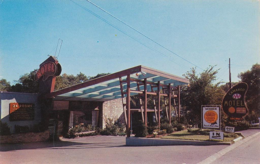 The Cardboard America Motel Archive Camargo Lodge Motel Cincinnati Ohio