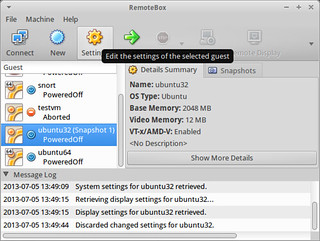 Edit VirtualBox VM Settings on RemoteBox | by xmodulo