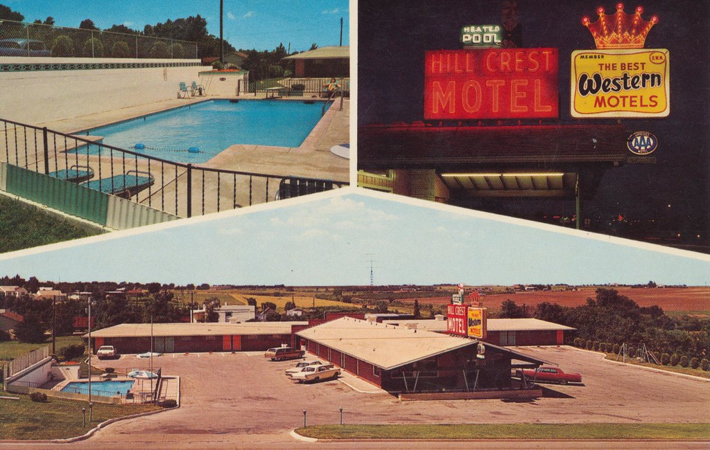 Hill Crest Motel - Pratt, Kansas