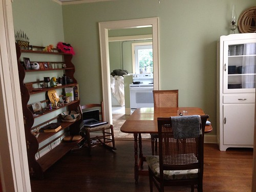 Dining room/kitchen getting set up | by Waldie's World