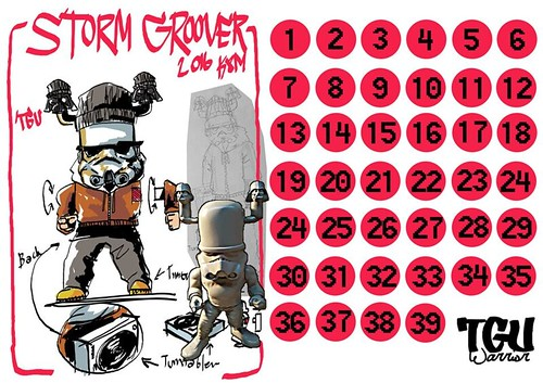 Storm Groover Pre-order 01