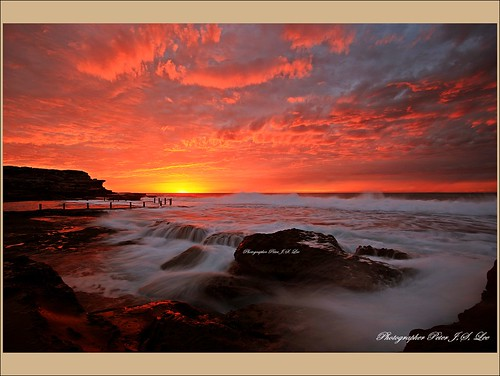 Maroubra sunrise(일출) | by Jong Soo(Peter) Lee