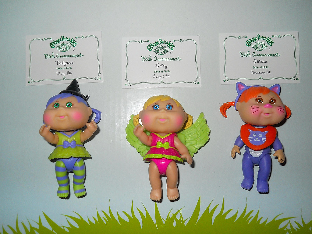 Mini halloween cabbage patch kids and their birth certific flickr mini halloween cabbage patch kids and their birth certificates by teekeek aiddatafo Images