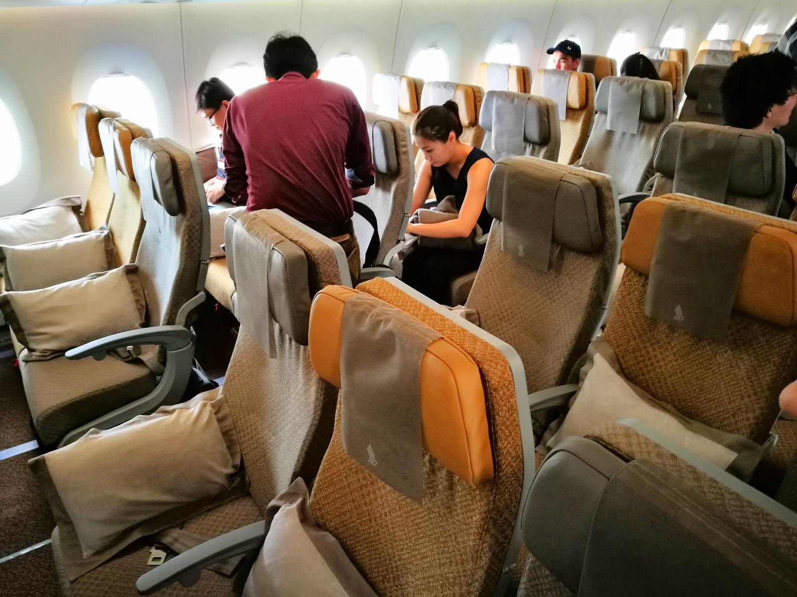 Second Economy class cabin
