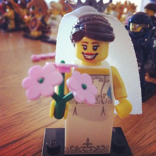 #lego #bride :) | by KarindeZwaan